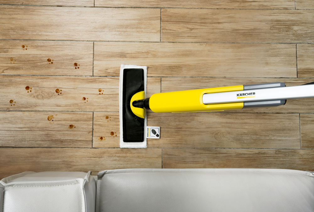 Kärcher Dampfmopp SC 2 Upright EasyFix: Hygienische Reinigung von Hartböden