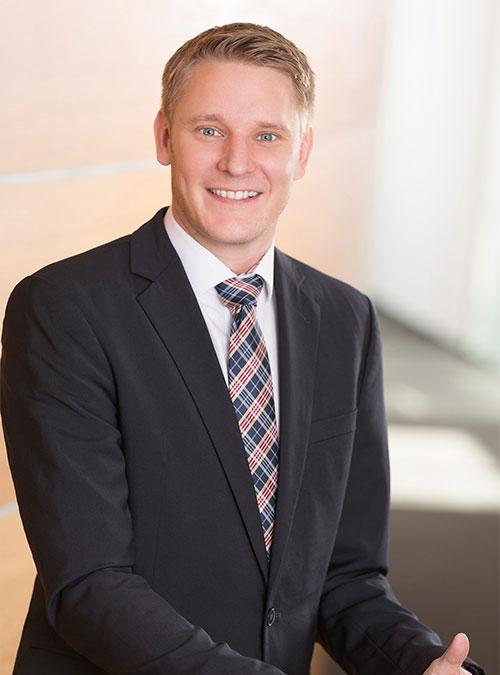 Sebastian Kebbe, Vertriebsleiter Deutschland der Beurer GmbH