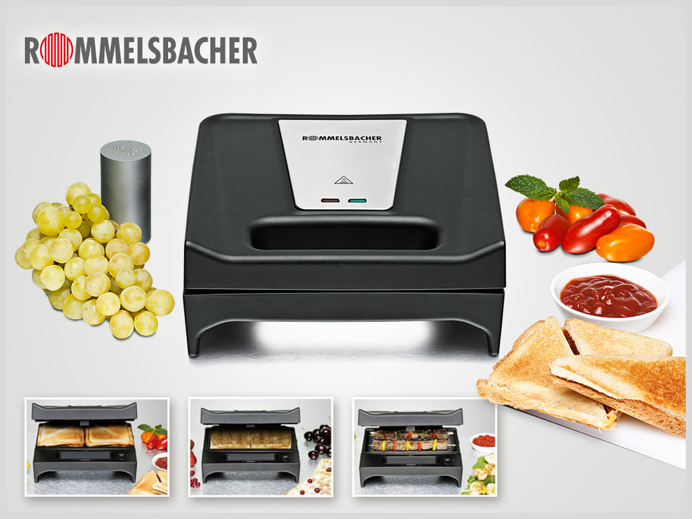 Rommelsbacher Toast & Grill SWG 700