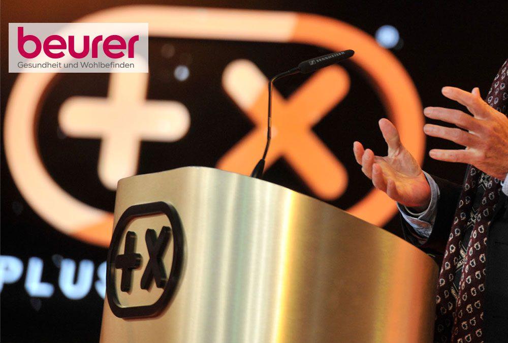 Beurer mehrfach beim Plus X Award ausgezeichnet