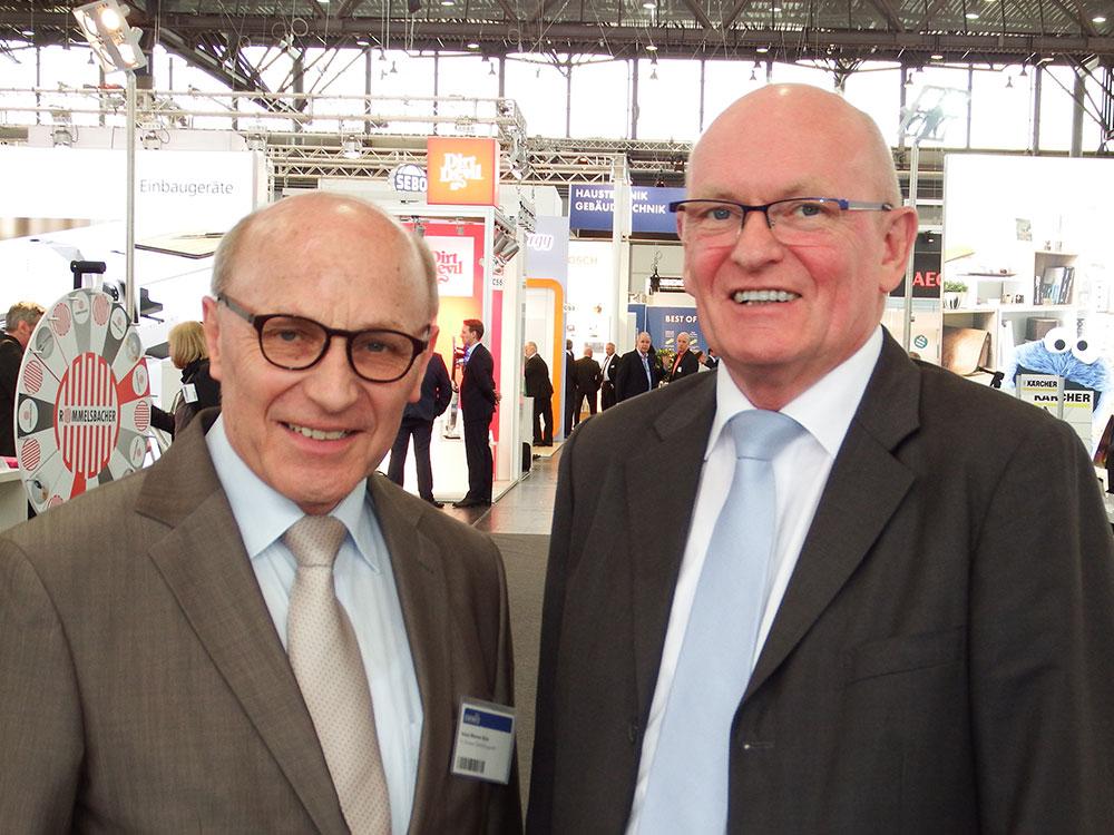 Alter und neuer Vorstand: Heinz Werner Ochs und Berthold Niehoff