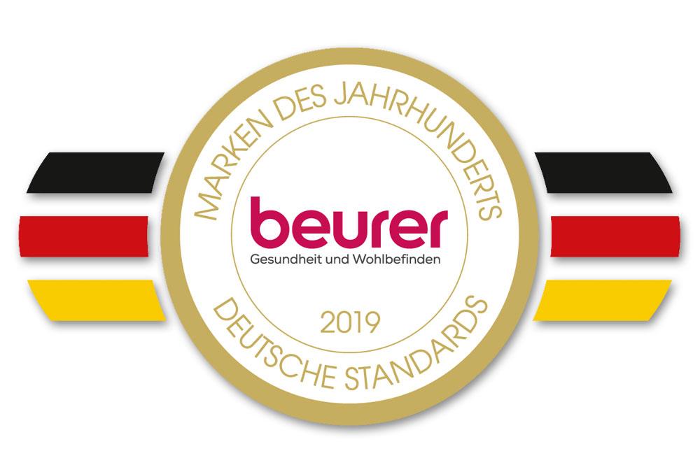 """Beurer ist """"Marke des Jahrhunderts"""" für Blutdruckmessgeräte"""