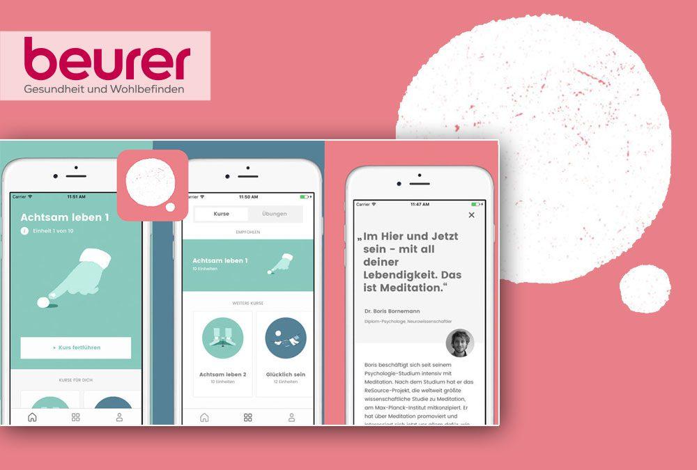 Beurer und Gruner + Jahr schnüren Produktpaket für mehr Gelassenheit