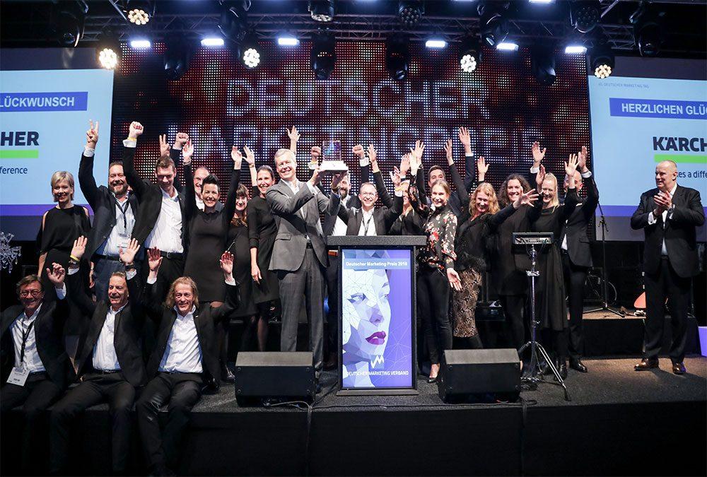 Kärcher gewinnt den Deutschen Marketing Preis 2018
