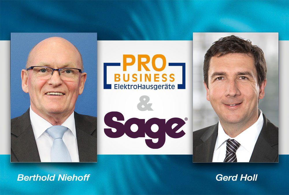 ProBusiness und SAGE Appliances: Das passt!