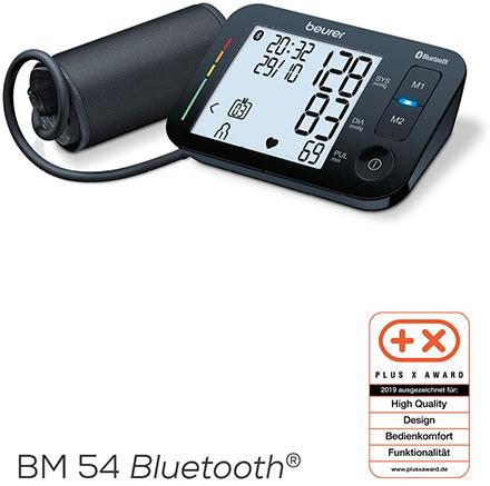 """Beurer Oberarm-Blutdruckmessgerät BM 54 Bluetooth® – """"High Quality, Design, Bedienkomfort und Funktionalität"""""""
