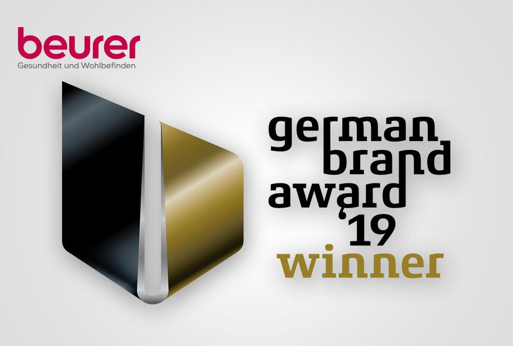 Beurer zum dritten Mal Preisträger des German Brand Awards