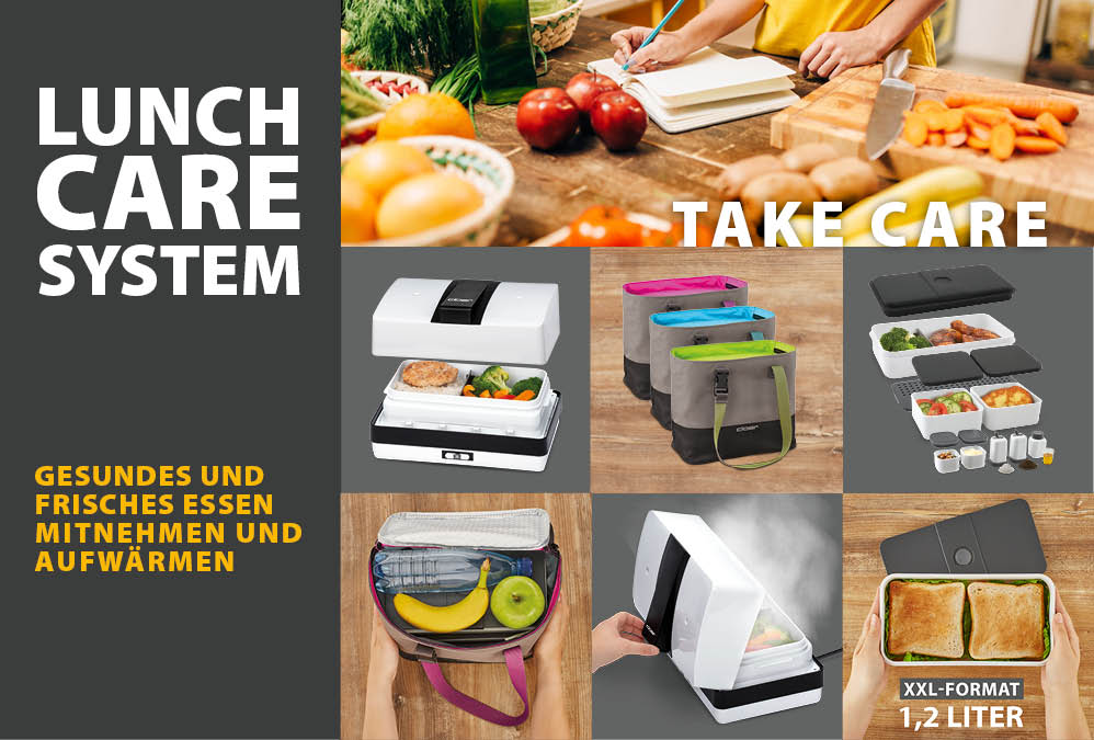 LUNCH CARE SYSTEM – TAKE CARE OF YOUR FOOD