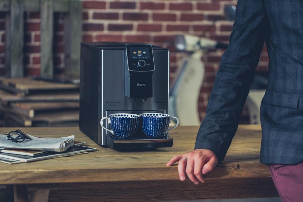 Weil jede Leidenschaft mit  einem guten Kaffee beginnt: Die neuen 8er-Modelle von NIVONA
