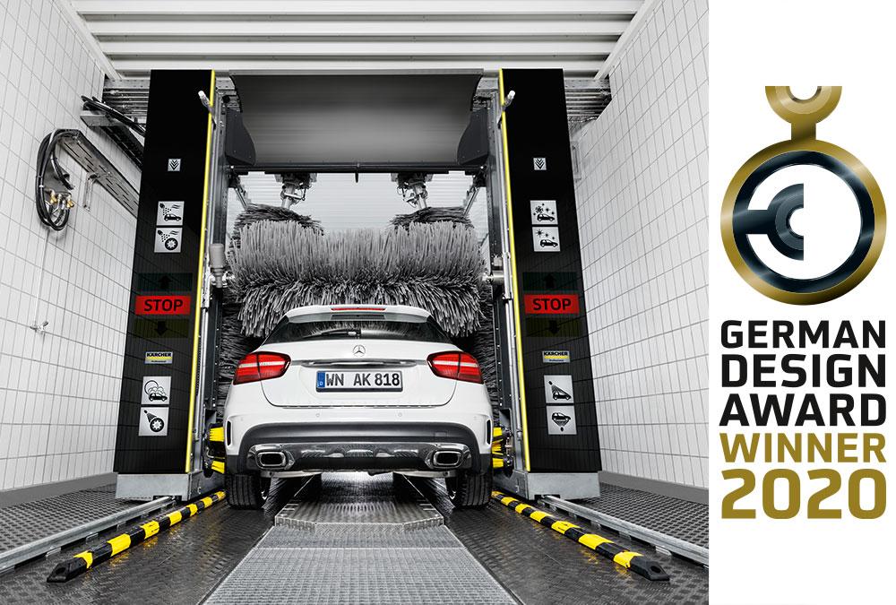 Für stark konturierte Fahrzeuge und anspruchsvolle Kunden: Portalwaschanlage CWB 3 Klean!Star iQ