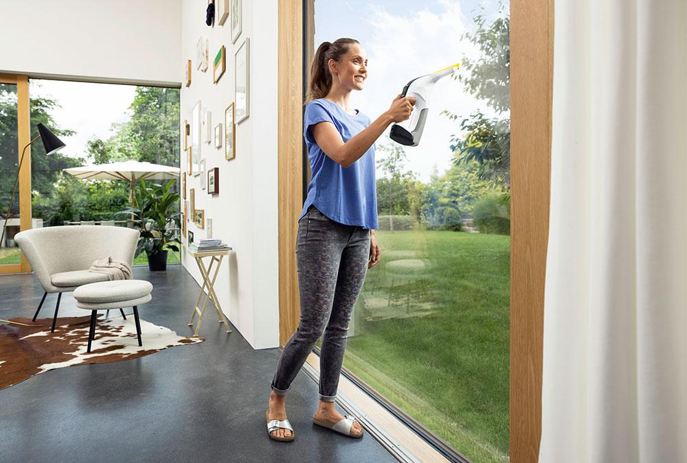 Der WV 6, die neueste Generation der Kärcher-Fenstersauger-Reihe