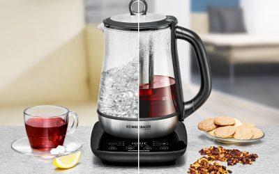 Temperaturgenaue Zubereitung von Tee & Heißwasser