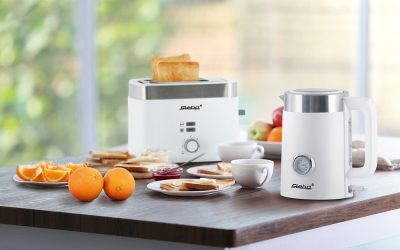"Wasserkocher / Toaster-Serie ""Bianco"""