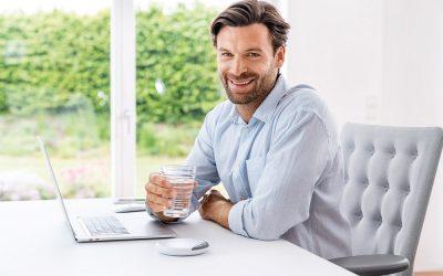 Lebenselixier Wasser: Ausreichend trinken mit dem Trinkmanager DM 20