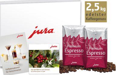 JURA weckt mit Sommer-Genusspaketen für Verbraucher die Lust auf einen neuen Kaffeespezialitäten-Vollautomaten