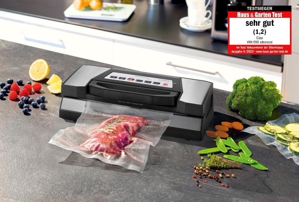 Lebensmittel lange frisch halten – der Vakuumier als Allroundtalent