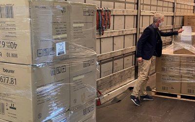 Beurer spendet 25.000 Schutzmasken und startet eigene Produktion
