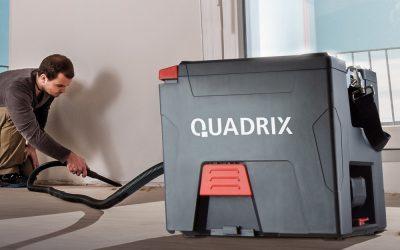 Die Freiheit von der Steckdose. Neuer starmix Akku-Sauger Quadrix L 18V Top