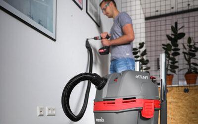 """Pragmatisch, praktisch, gut! Neuer starmix Allzwecksauger """"eCraft"""" für Handwerk und Reinigung"""