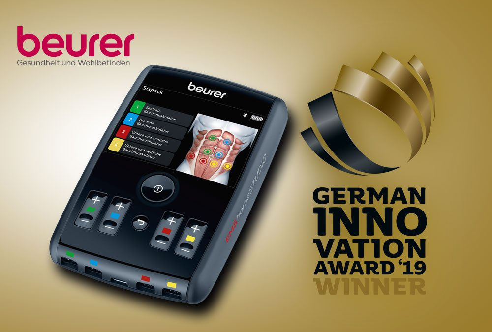 German Innovation Award für HighEnd EMS-Trainer von Beurer