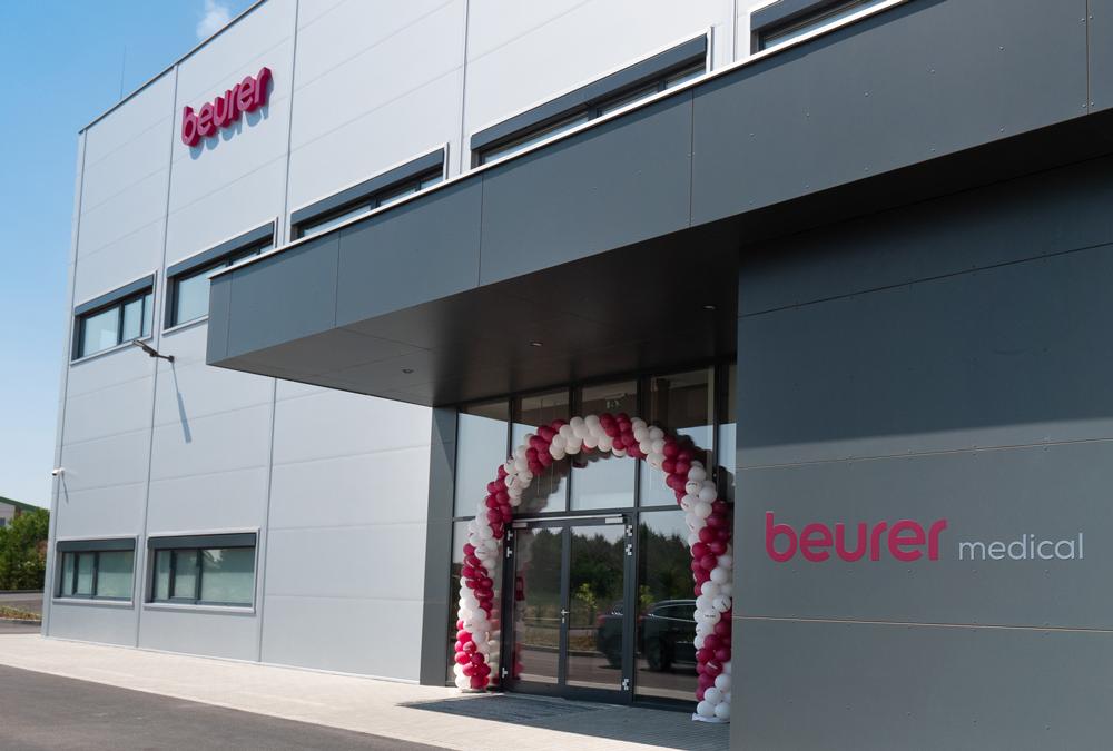 Beurer baut Standort Ungarn zur europäischen Produktionsstätte für Medizinprodukte aus