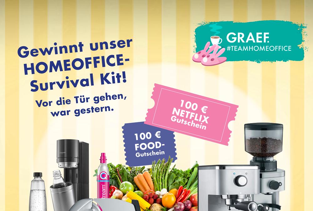 Große Social-Media-Aktion: Haushaltsgerätehersteller GRAEF sucht Deutschlands coolstes Homeoffice