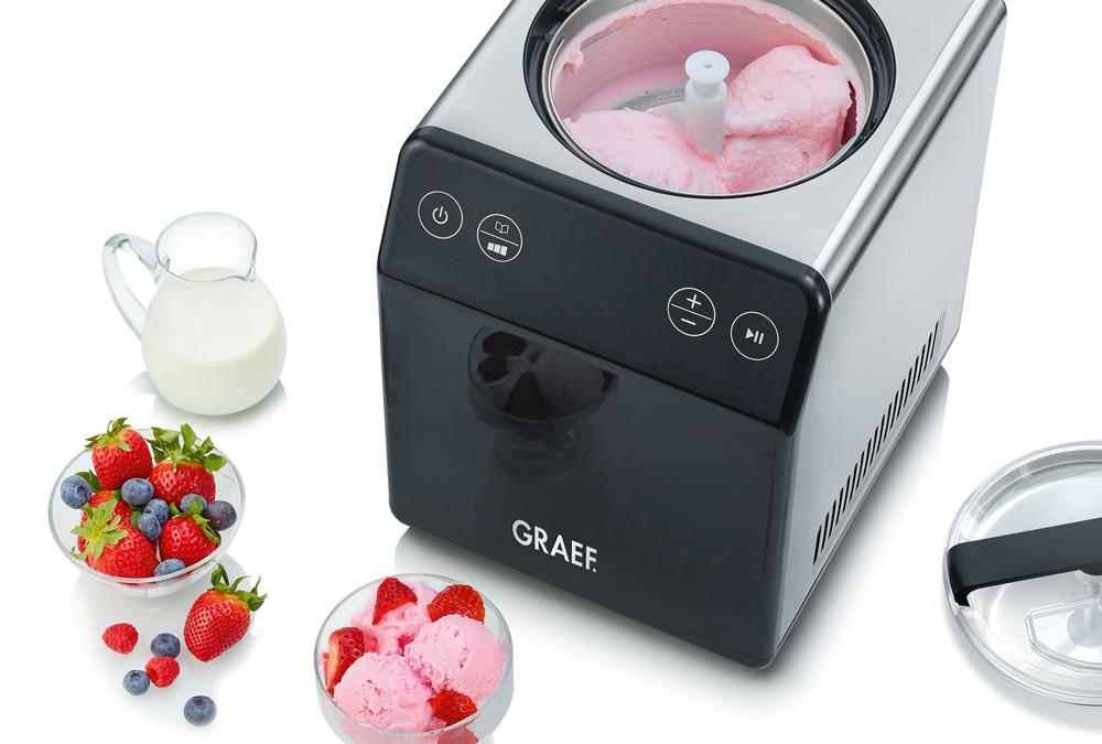 Sommer, Sonne, Eis: Die neue GRAEF Eismaschine zaubert kühle Leckereien für die ganze Familie