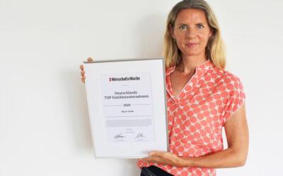 "Beurer unter den TOP 10 ""Deutschlands TOP Familienunternehmen 2020"""