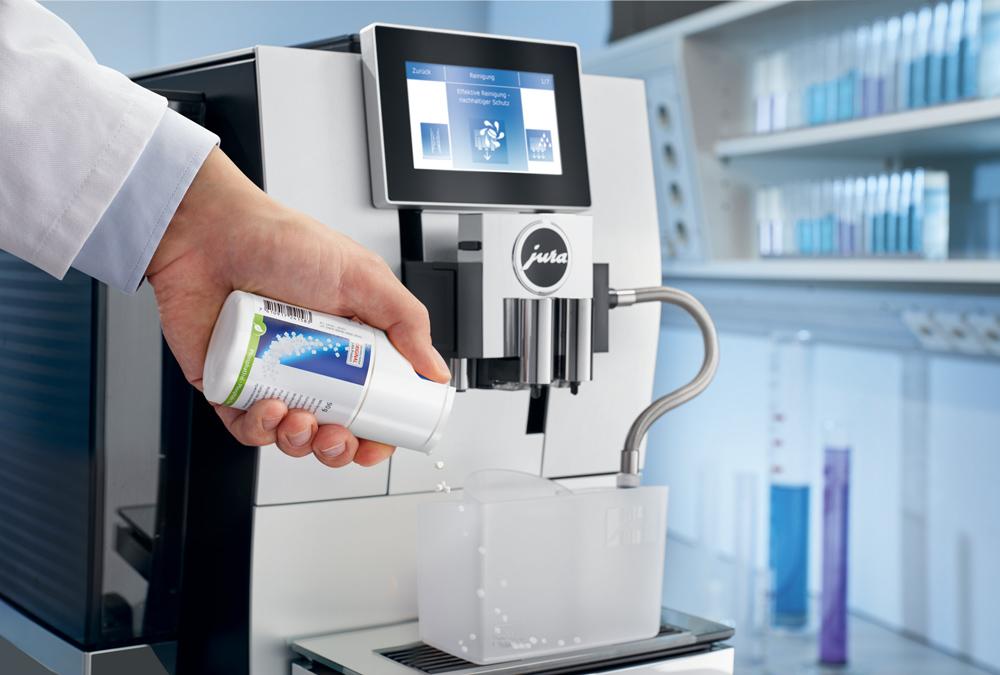 JURA-Milchreinigungssystem mit Mini-Tabs: Hygiene und Bedienkomfort 2.0