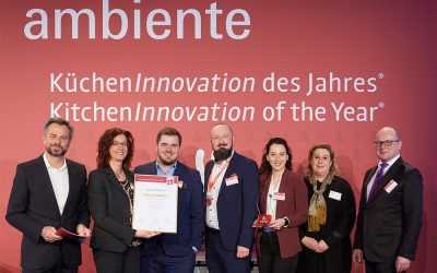 """""""KüchenInnovation des Jahres 2020 – Best of the Best"""""""