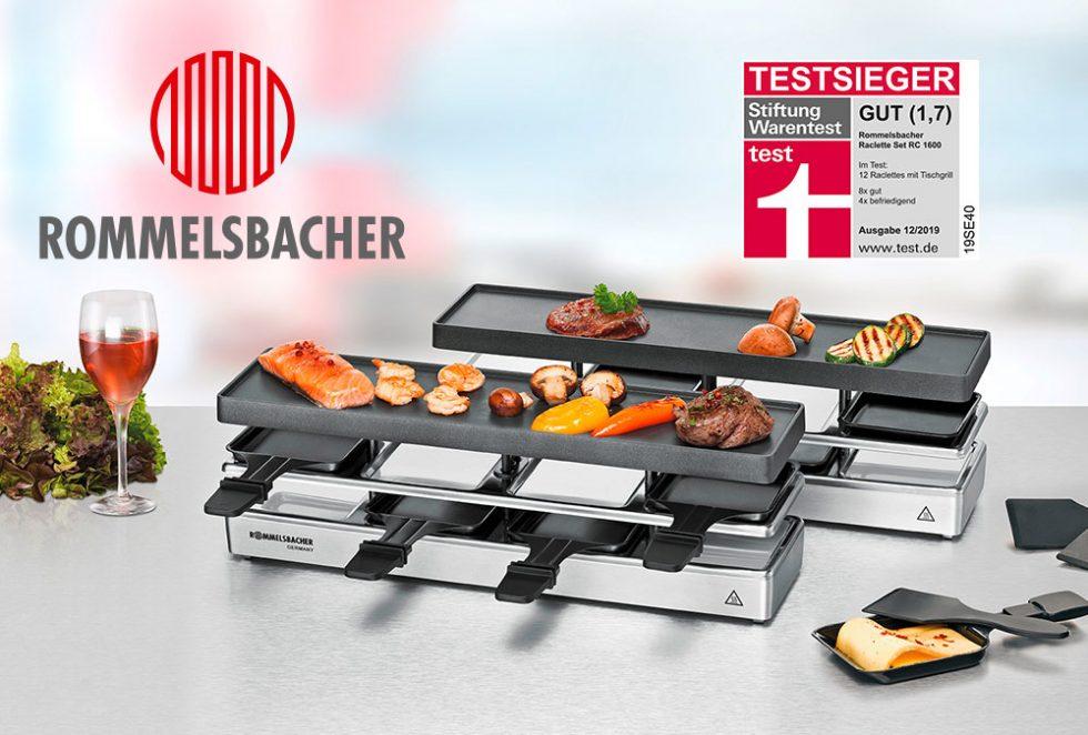 Das beste Raclette mit Tischgrill
