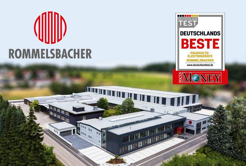 """""""Deutschlands Beste"""": ROMMELSBACHER auf Platz Zwei – Auszeichnung bestätigt, mit sensationellem Ergebnis"""