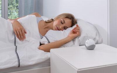 Ruhiger einschlafen und besser durchschlafen mit neuen Produkten der Beurer SleepLine