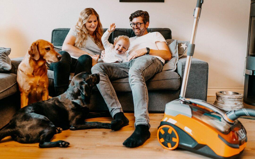 Der neue AQUA+ Pet & Family ParquetPro von THOMAS: Sau(g)starke, hygienische Hilfe für den Tier- und Familienhaushalt