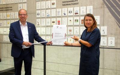 Kärcher bestätigt Siegel für familienfreundliche Personalpolitik
