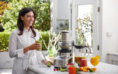Vitaminreiche Smoothies und Säfte für Zuhause – mit den Bluicern von Sage Appliances