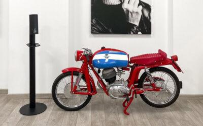 Schwäbisches Qualitätsprodukt für italienische Kult-Motorradgeschäfte