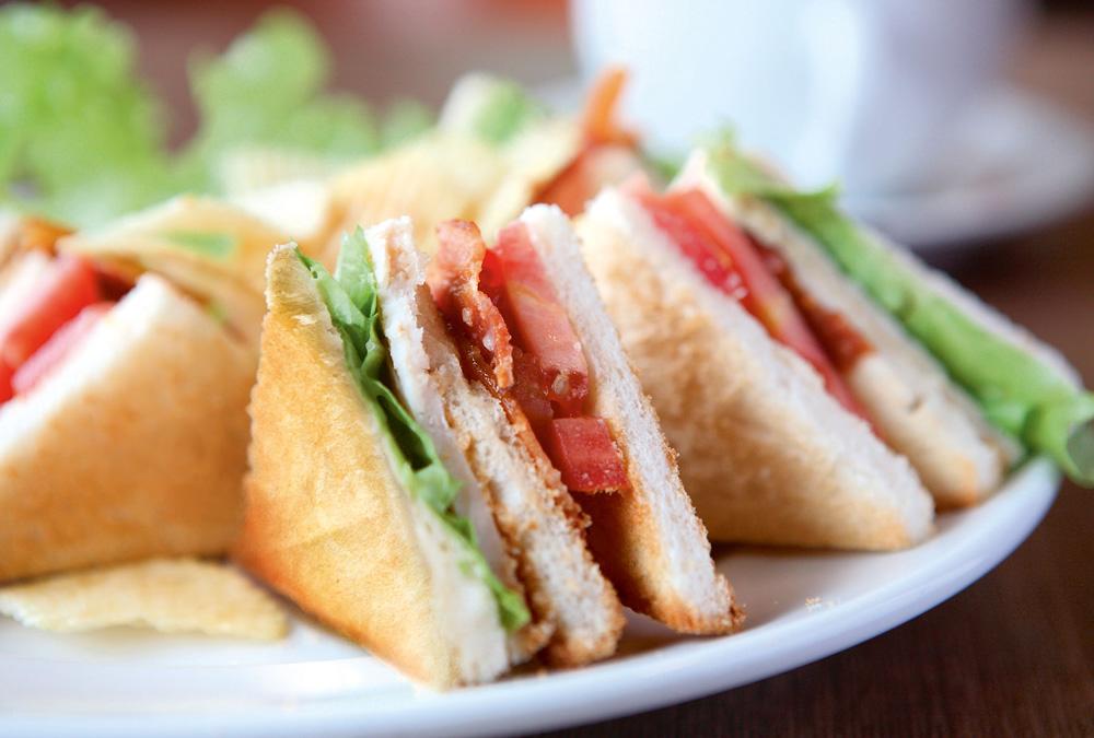Sandwich, Waffel und mehr…